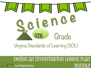 5th Grade VA SOL Investigations