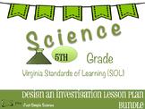 5th Grade VA SOL Investigations