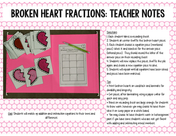 5th Grade Valentine Themed Math Centers {Common Core Aligned}