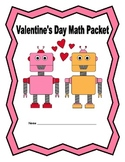 5th Grade Valentine's Day Math Packet with Answer Key