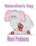 5th Grade Valentine's Day Math Word Problems with Answer Key