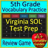 5th Grade Virginia SOL Reading Test Prep Vocabulary and Figurative Language Game