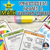 5th Grade Virtual Math Camp