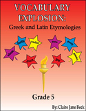 Greek and Latin 5th Grade Vocabulary Program - Daily Root Word Lessons