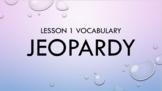 5th Grade Vocabulary OR Vocab Jeopardy Template