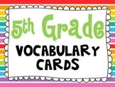 5th Grade Vocabulary