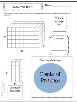 5th Grade Volume Within Volume