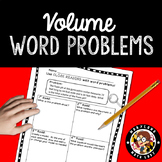 5th Grade Volume Word Problems - Close Reading!