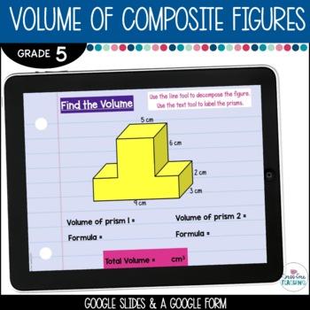 5th Grade Volume of Composite Figures