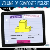 Volume of Composite Figures Digital Resource