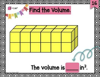 5th Grade Volume with Cubic Units for Google Classroom