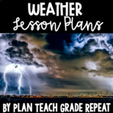 5th Grade Weather Lesson Plans - NC Essential Science Stan