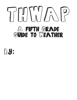 5th Grade Weather Unit - Student Journal