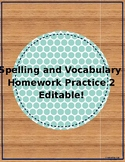 5th Grade Weekly Homework Packet: 2