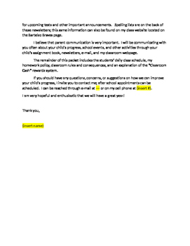 How to write an application letter 5th grade