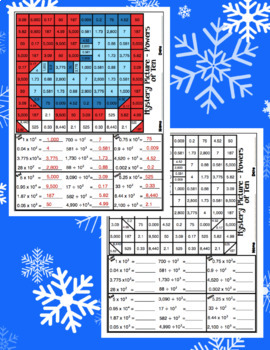 5th Grade Winter Games Math: 5th Grade Math Mystery Pictures