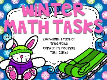 5th Grade Winter Math Tasks