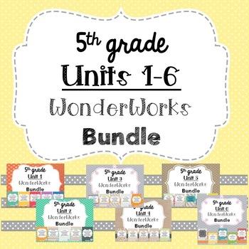 5th Grade WonderWorks Supplement- ALL UNITS Bundle