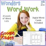 5th Grade Wonders Digital Learning Bundle for Distance Learning