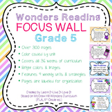 Wonders Reading Focus Wall-5th Grade