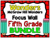 5th Grade Wonders Focus Wall Bundle