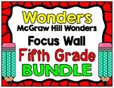 5th Grade Wonders Focus Wall Bundle