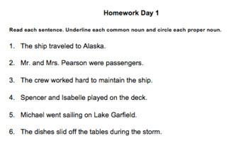 5th Grade Wonders Grammar Bundle
