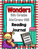 5th Grade Wonders Reading Notebook