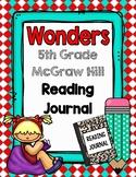 5th Grade Wonders Reading Notebook