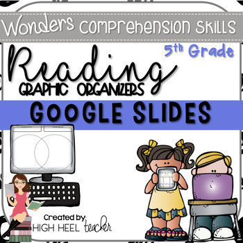 5th Grade Wonders Reading Skills Graphic Organizers {Google Slides}