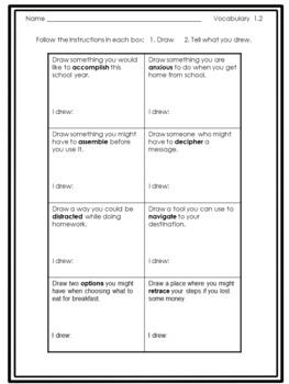 5th Grade Wonders Reading Vocabulary Practice Activities and Puzzles