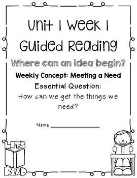 5th Grade Wonders Unit 1 Guided Reading