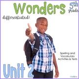 5th Grade Wonders Unit 2
