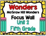 5th Grade Wonders Unit 2 Focus Wall