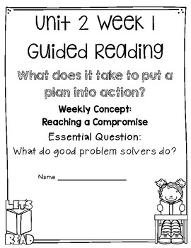 5th Grade Wonders Unit 2 Guided Reading