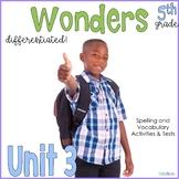 5th Grade Wonders Unit 3
