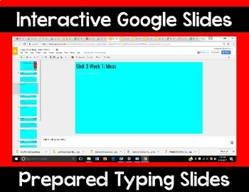 5th Grade Wonders Unit 3 Digital Writing Traits for Google Classroom
