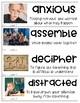 5th Grade Wonders Vocabulary Cards - Unit 1