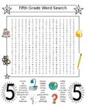 5th Grade Word Search