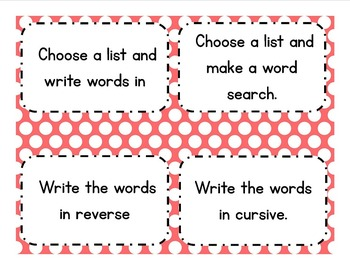 5th Grade Word Wall Vocabulary & Activities