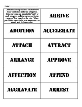5th Grade Word Work based on Building Vocabulary Unit 1