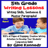 5th Grade Writing Lessons & Activities For Every Standard,