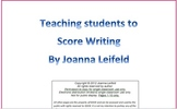 5th Grade Writing Assessment: How to Score My Writing Preview