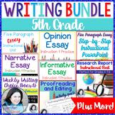 5th Grade Writing Bundle / 6th Grade Writing Bundle