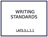 5th Grade Writing Florida Standards