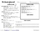 5th Grade Writing Journal Grading Sheet - NEW!