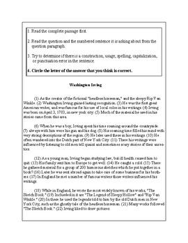 5th Grade Writing Practice 1