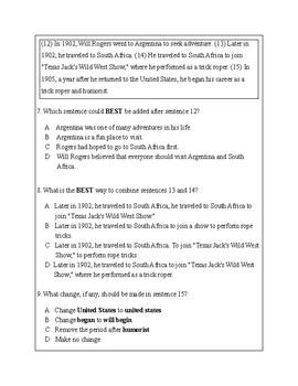 5th Grade Writing Practice 4
