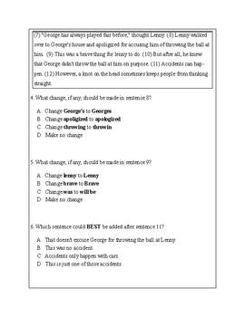5th Grade Writing Practice 5