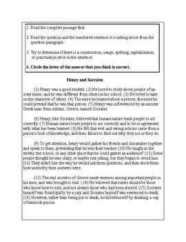 5th Grade Writing Practice 8